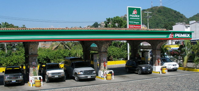 Photo credit: Pemexgasstation / Coolcaesar / CC-BY-SA-3.0 via Wikimedia Commons