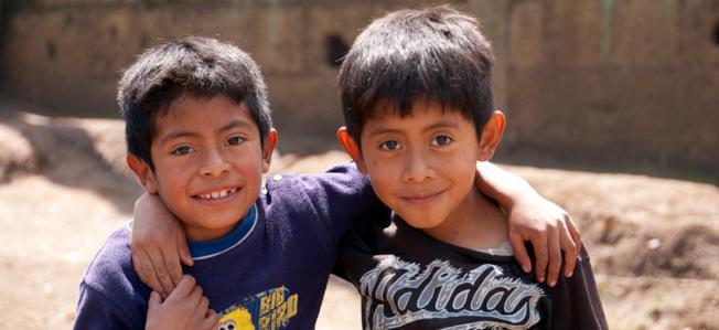 Estudiantes en Buena Vista, Guatemala / Rdubois / CC BY-NC-SA 2.0