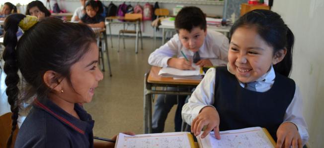 Colegio Municipal Marcela Paz, La Florida, Santiago de Chile / Oficina Regional de Educación / CC BY-NC-SA 2.0 (with modifications).